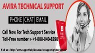 Dial :  +1-888-840-8298  Avira Support Phone Number – Best Support