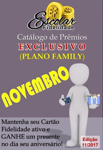 11 Catalogo EF - Novembro 2017 (Family)