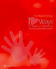 CSR cover red book final - A.S. Watson