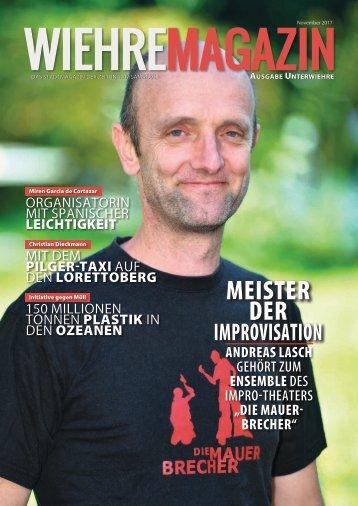 Wiehre Magazin, Ausgabe Unterwiehre (November 2017)