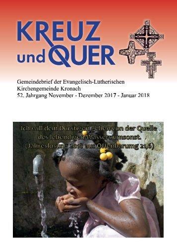 Gemeindebrief Kronach November 2017