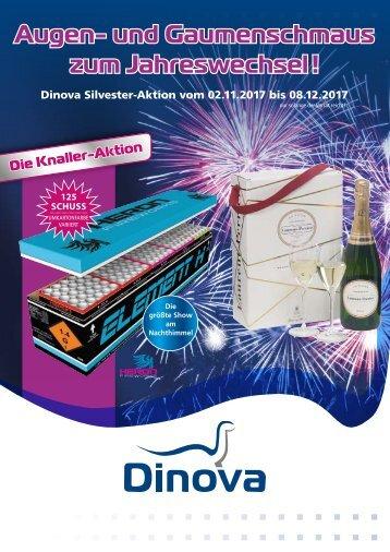 Dinova Knaller-Aktion 02.11. - 08.12.17