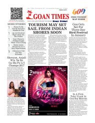 GoanTimes November 3rd, 2017 Edition