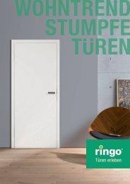Ringo - Wohntrend Stumpfe Türen