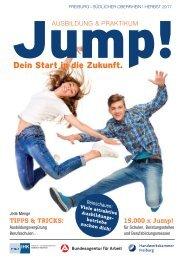 Jump! Ausbildungsmagazin für die Region Freiburg und Südlicher Oberrhein