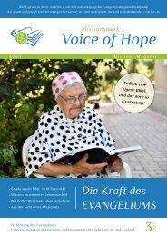 Voice of Hope Magazin 3-2017