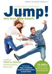 Jump! Ausbildungsmagazin für die Region Lörrach und Hochrhein