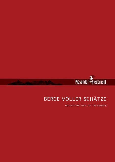 BERGE VOLLER SCHÄTZE I MOUNTAINS FULL OF TREASURES