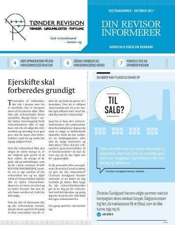 Revisor Informerer Ekstranummer oktober 2017