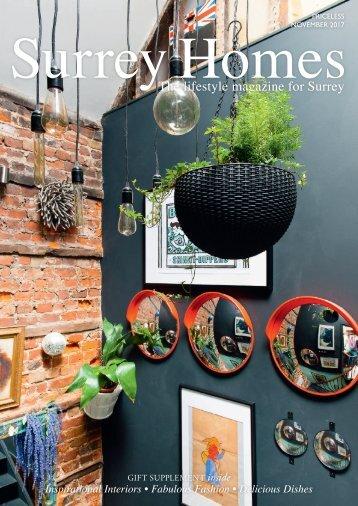 Surrey Homes   SH37   November 2017    Gift supplement inside