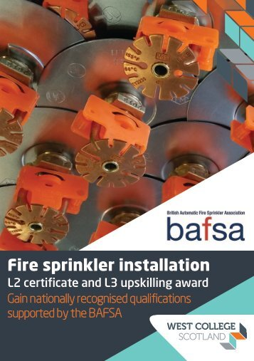Fire Sprinkler Installation and Maintenance - Training Courses