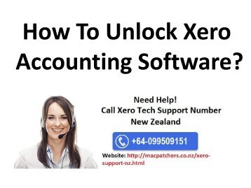 How To Unlock Xero Accounting Software?