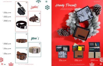 ladies and mens belt and mens wallets