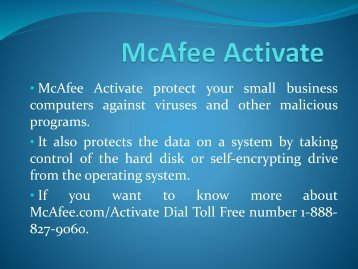 McAfee Product Key | McAfee.com/Activate | McAfee Activate