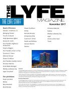 The Lyfe Magazine - November 2017 - Page 4