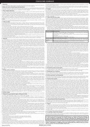 CONDICIONES GENERALES - Barclaycard