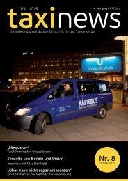 RAL 1015 taxi news Heft 8-2017