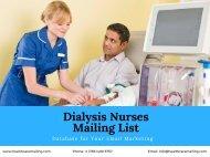 Dialysis Nurses Mailing List