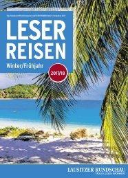 Leserreisen Magazin Winter/Frühjahr 2017/18