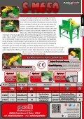 Tischkreissäge mit handbetätigtem mit elektromotor - Rosselli Snc - Seite 2