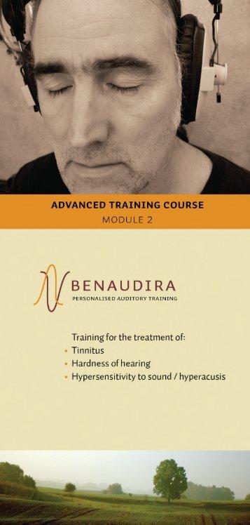 BENAUDIRA - course module 2 - TINNITUS and HEARING LOSS