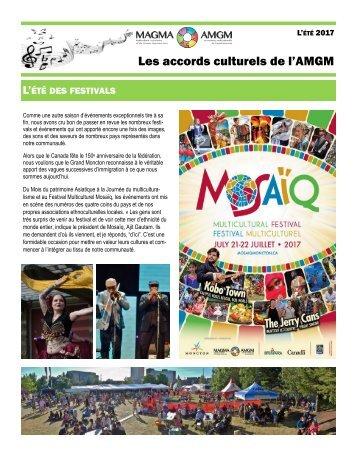 Bulletin d'été de l'AMGM - 2017