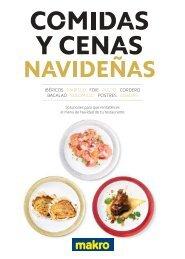 Catálogo makro ofertas Comidas y Cenas Navideñas del 1 al 30 de Noviembre 2017