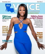 The Voice of Southwest Louisiana November 2017 Issue