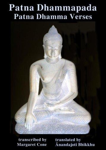 Patna Dhammapada, Patna Dhamma Verses