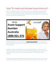 How To Install and Activate Avast Antivirus