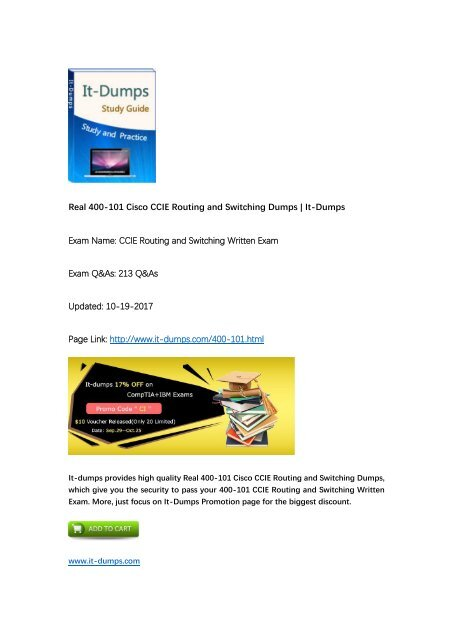 2017 New] CCIE Routing and Switching 400-101 CCIE Real Dumps