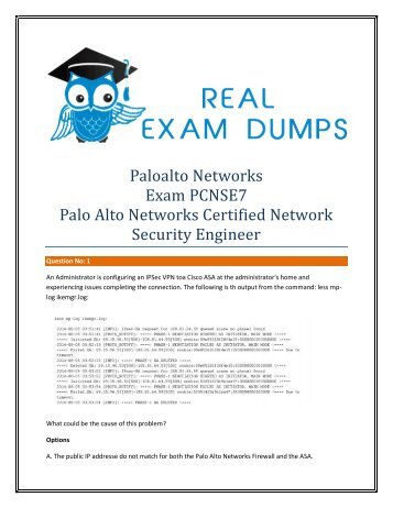 Palo-Alto-Networks PCNSE7 Exam Study Material - Palo-Alto-Networks PCNSE7 Exam Dumps