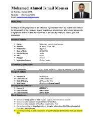 Resume ismail