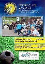 SPORT-CLUB AKTUELL - SAISON 17/18 - AUSGABE 7