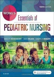 PDF Wong s Essentials of Pediatric Nursing, 10e - All Ebook Downloads