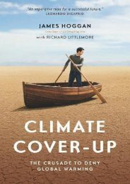 PDF  Climate Cover-Up: The Crusade to Deny Global Warming James Hoggan Full Book