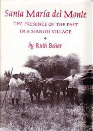 Download [PDF]  Santa Maria del Monte: The Presence of the Past in a Spanish Village Ruth Behar Trial Ebook
