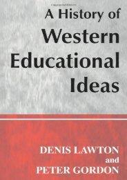 [Download]  A History of Western Educational Ideas (Woburn Education Series) Professor Peter Gordon Trial Ebook