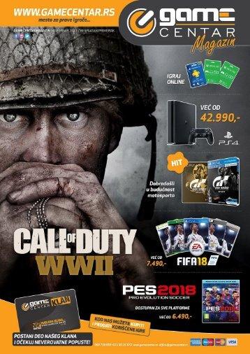 Game Centar Magazin Novembar 2017