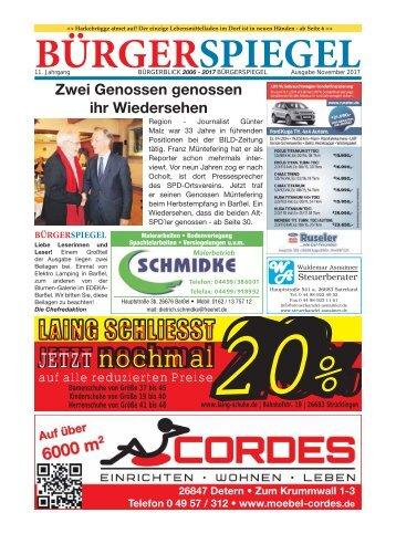 November 2017 | Bürgerspiegel