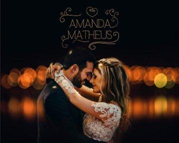 Amanda e Matheus - Album 20x25
