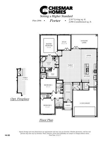 Floor Plans Available in Wasser