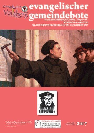 evangelischer gemeindebote 3/2017