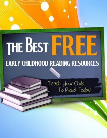 The Best FREE Early Childhood Reading Resources