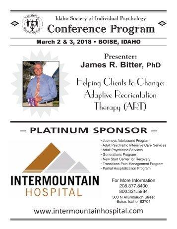 2018 Conference Program