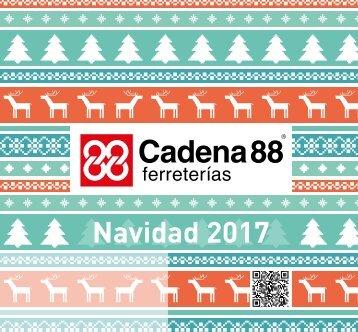 Catálogo Cadena88 Navidad 2017