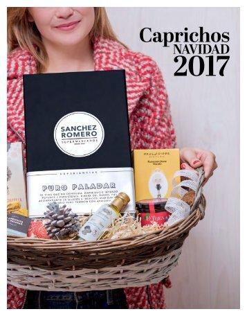 Catálogo Caprichos Navidad 2017 Sanchez Romero Supermercados