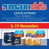 Castelvetrano dal 6 al 19 Novembre