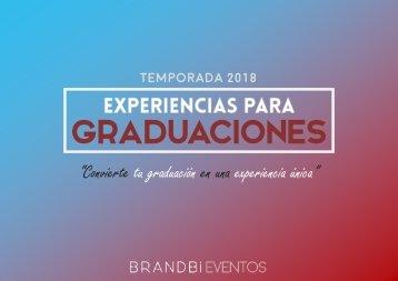 Dossier Graduaciones 2018 - Brandbi Eventos (SD)
