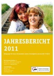 jahresbericht 2011 - Arbeiterwohlfahrt Kreisverband Heinsberg e.V.